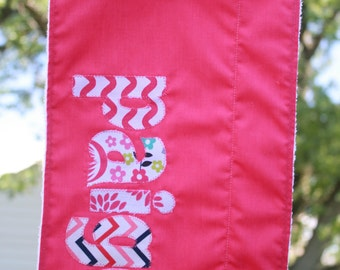 Personalized Burp Rags/Cloths, Baby Gifts, Shower Gifts