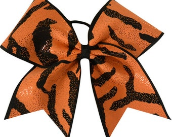 Tangerine Dream Cheer Bow