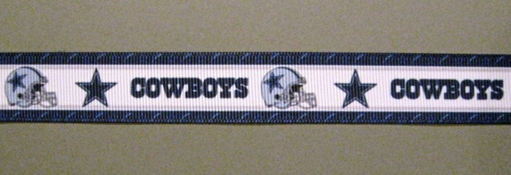 Sale dallas cowboys 7 8 grosgrain craft ribbon 3 for Dallas cowboys arts and crafts