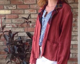 Recycled Custom Designed Linen Jacket