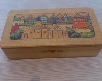 Vintage Russian trinket box