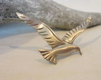 Vintage Beau Sterling Bird Pin