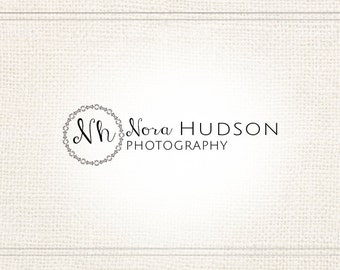 Premade Photography Watermark + Logo with Monogram - L055