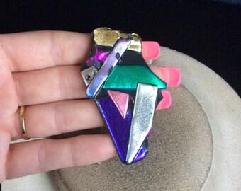 Vintage Unique Colorful Pin