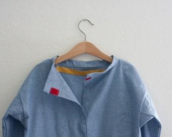 apron for asylum activities - Cotton - Velcro closure - customizable