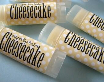 Cheeesake  - Vegan Lip Balm - Natural Lip Butter - Bath and body  - Dessert flavor