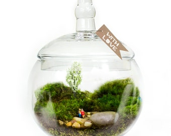 Moss Terrarium // Couple // Happy Place