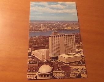 1972 sheraton boston hotel boston mass Postcard Free Shipping