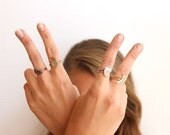Ring // Pineapple Ring // Statement Ring // Brass // Copper // Fruit Ring