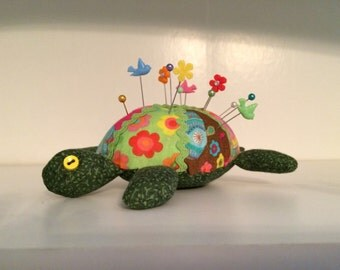 Patches the Turtle Pincushion
