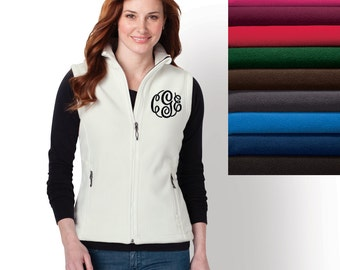 Vest Choose Your Color Monogram Vest Personalized Gift from Embellish Gifts