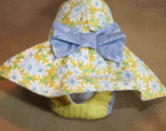 Dog Diapers-WATERPROOF/ size MEDIUM Yellow Daisies_Waterproof