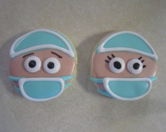 Surgeon Decorated Cookies