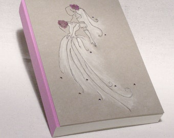 Wedding Photo Album, Personalized Wedding Album, Custom Wedding Guest Book, Photoalbum Wedding Design, Graphic Design Bride, Wedding Gift