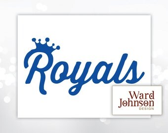 Digital File - Royals Graphic for Iron-On or Vinyl Decal