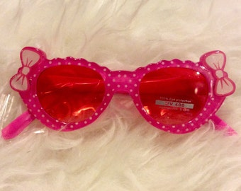 Toddler pink sunglasses 8002