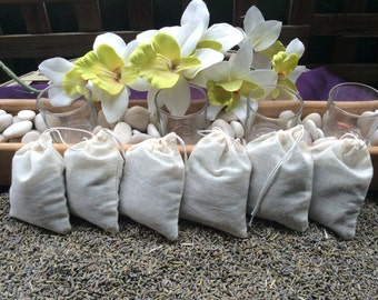 50 very fragrant lavender sachet wedding favor toss baby shower
