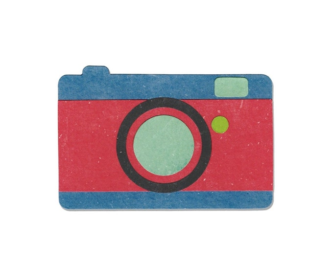 New! Sizzix Bigz Die - Camera #2 by Echo Park Paper Co. 660449