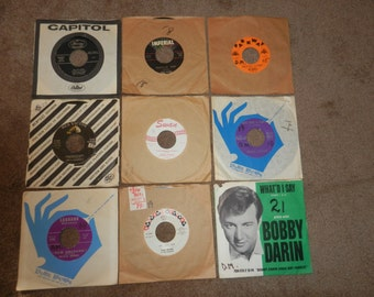 Records - 45rpms - From 1960s -
