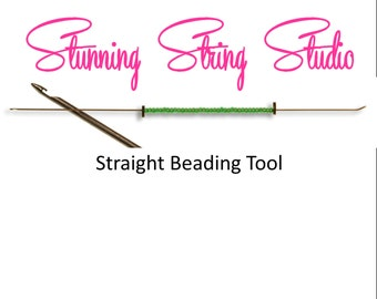 Straight Beading Tool - Your choice of size