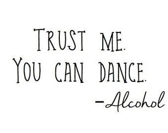 Trust Me, You Can Dance Wedding Sign