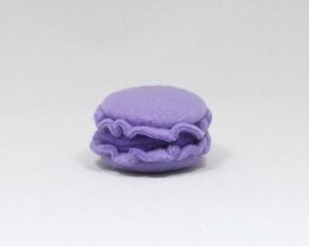 Lavender Macaron Cat Toy Stuffed with Organic Catnip