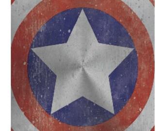 Captain America Postcard