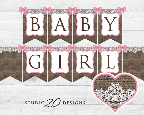download burlap baby shower banner burlap and lace bunting banner