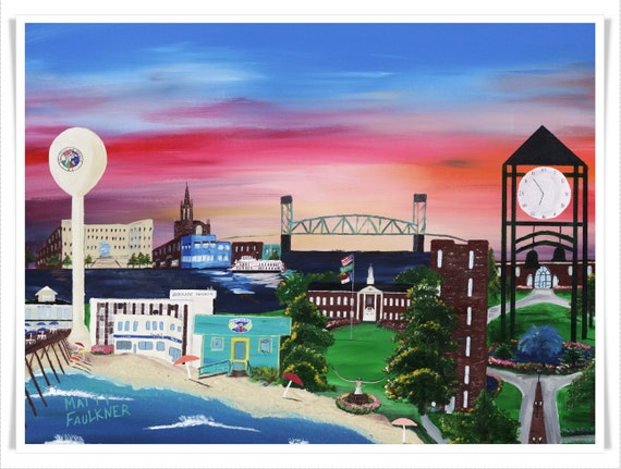 wilmington nc in color the city of teal gicl 232 e