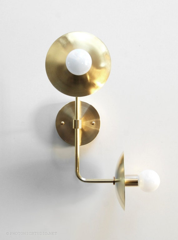 Modern Brass Wall Lamps : Modern Wall Lamp Modern Sconce Modern Wall Light Up Down
