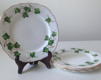 Porcelain round and square English Teacup Plate