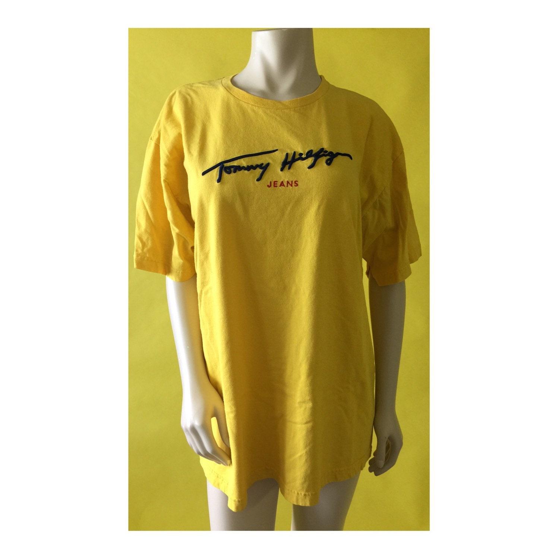 vintage 90s tommy hilfiger classic logo t shirt by littleloco. Black Bedroom Furniture Sets. Home Design Ideas