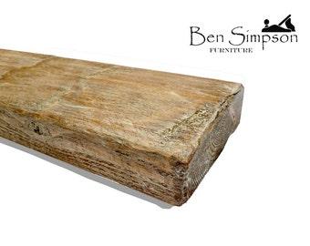 Shabby Chic Chunky Wooden Rustic Floating Shelf Shelves Mantel Handmade