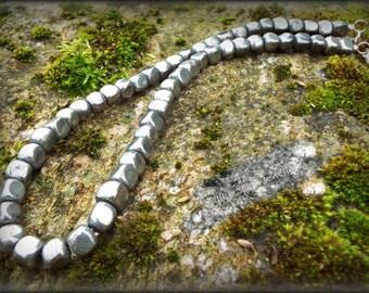 Purely Pyrite semi precious necklace