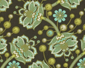 Half yard - 1/2 yard -  Bees Knees in Forest  - TIMELESS by Tula Pink