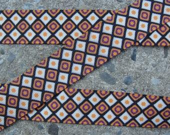 """3y Fall Ribbon Printed Ribbon Fall Polka Dots Ribbon 7/8"""" Hair Bow Ribbon thanksgiving ribbon hair bow ribbon"""