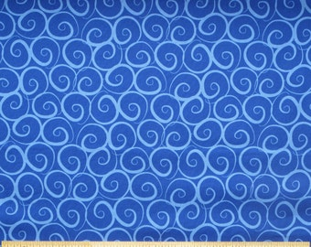 "RJR Fabrics ""Boutique Brights"" Blue 100% premium cotton quilting fabric RJR038"