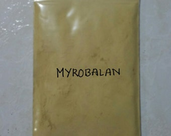 Myrobalan Terminalia chebula Natural dye yellow ( mordant as well dye ) 100 gram