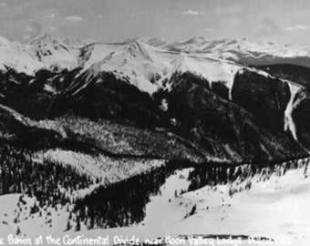 Dillon, Colorado - Arapahoe Basin at Continental Divide Photograph (Art Prints available in multiple sizes)