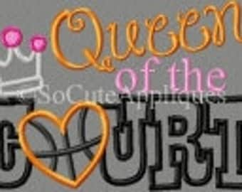 Queen of the court shirts-basketball-volleyball-tennis