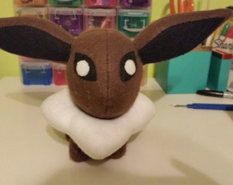 Felt Eevee Eeveelution Pokemon Plush