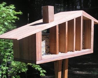 Mid Century Modern Bird Feeder, Window Feeder,  Ranch House, Cliff May, Googie, Eichler, Post War Track House