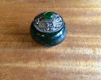 Vintage Jade Keepsake Bowl