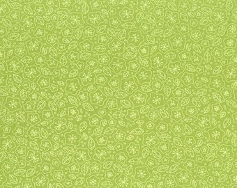 RJR Fabrics Lovebirds 2267 03 Floral Green Yardage by Patrick Lose