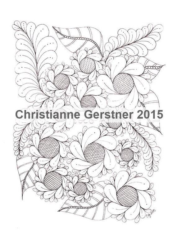 Instant Digital Download Botanical, From GDG, Vol. 2