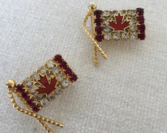 CLEARANCE Sale Pair of Canadian Pins