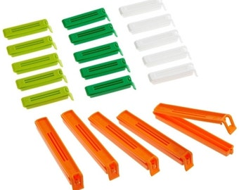 KitchenMixed pack of 20 Bag Clips [1204]