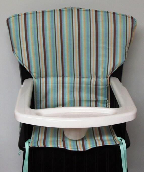 Highchair Cover Eddie Bauer Newport Style Wooden High Chair