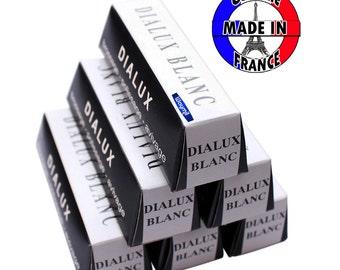 White Dialux Blanc Rouge Polishing Compound 6 Bars Polish Gold, Silver, Platinum WA 417-006-6