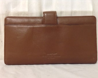 Buxton Leather Wallet,brown leather,wallet